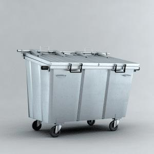 Location de conteneur poubelle à roulettes